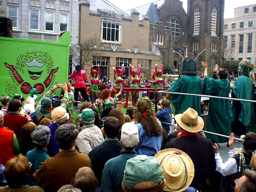 Sweet Potato Queens St. Pat's 2002 blog