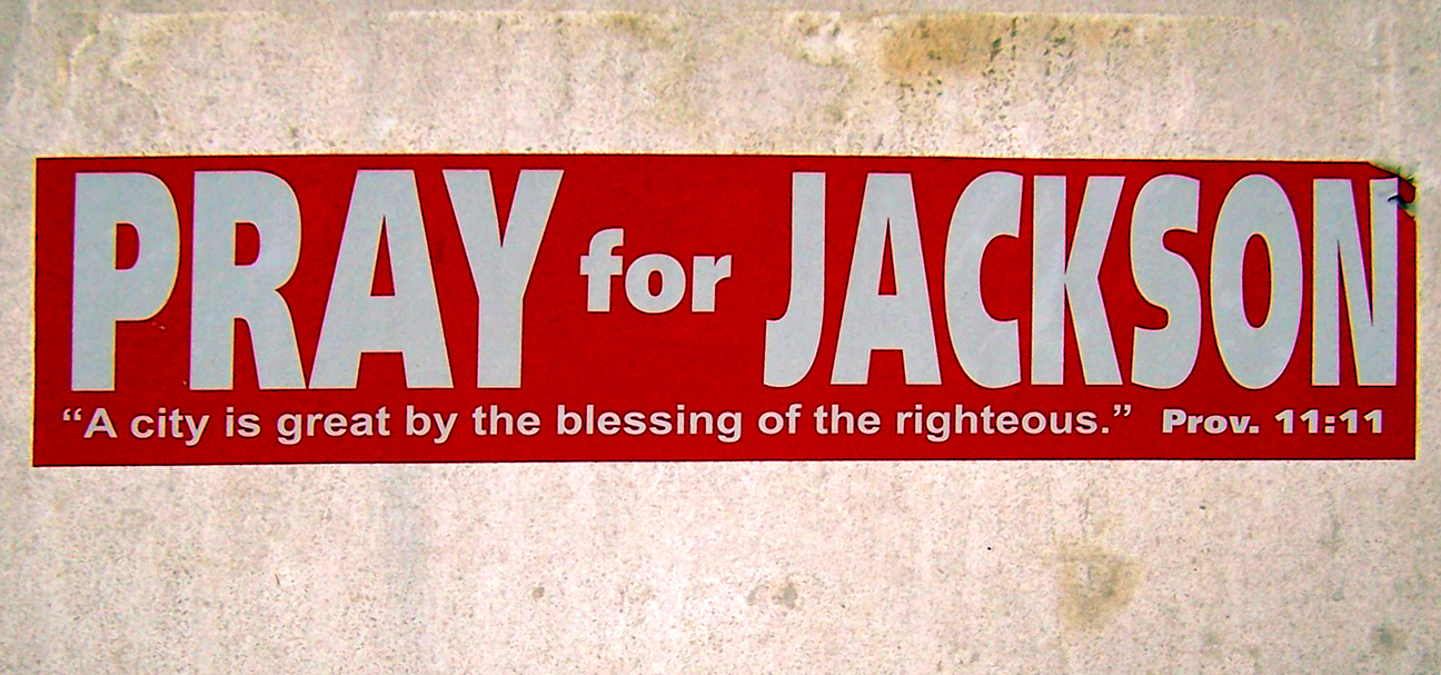 pray for jackson blog