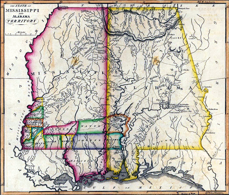 ... the state's first governor. Electors also chose George Poindexter as  its only congressman and Walter Leake and Thomas H. Williams as its first  senators.